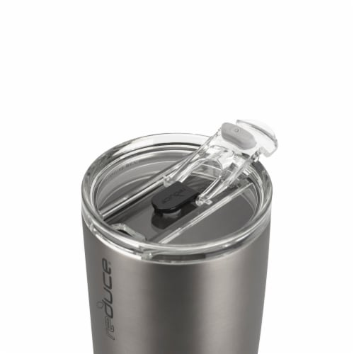 Reduce COLD-1 Matte Tumbler - Charcoal Perspective: top
