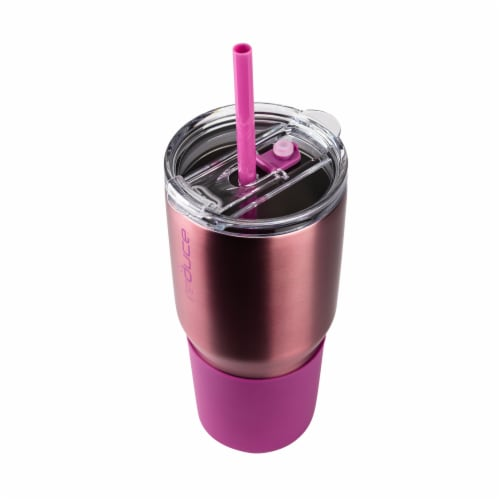 Reduce COLD-1 Tumbler - Rose Gold Perspective: top