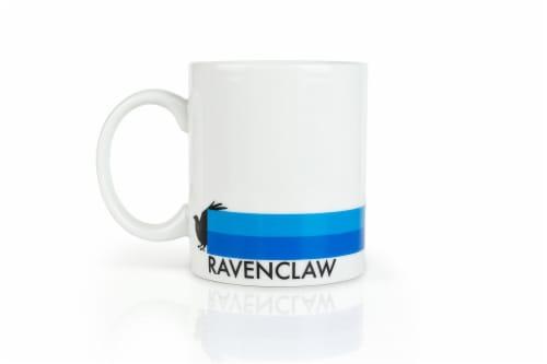 Harry Potter Ravenclaw 16-Piece Porcelain Dinnerware Set | Plates, Bowls & Mugs Perspective: top