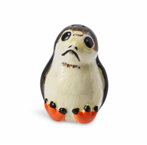 Star Wars Porgs Salt & Pepper Shakers | Official Star Wars Ceramic Spice Shakers Perspective: top