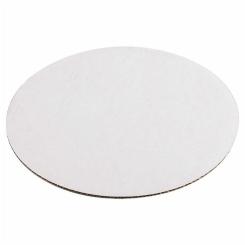 12-Pack Round Cake Boards, Cardboard Cake Circle Bases, 12 Inches Diameter, White Perspective: top