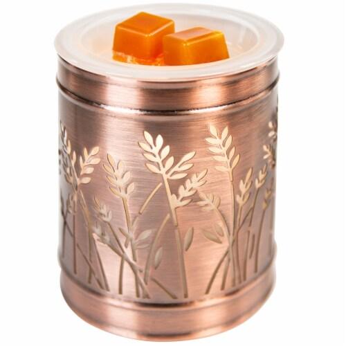 Oak & Rye™ Wax Warmer - Golden Fields Perspective: top