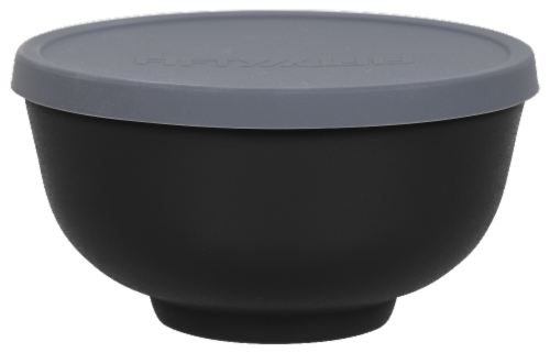 Fifty/Fifty Vacuum Insulated Bowl & Lid - Black Perspective: top