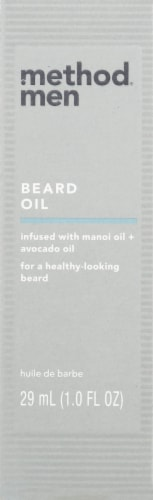 Method Men Sea + Surf Beard Oil Perspective: top