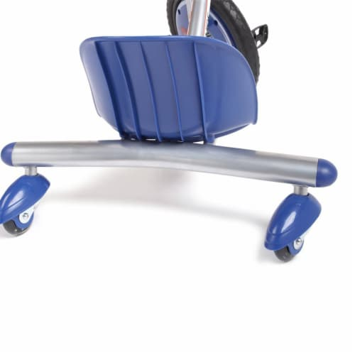 Razor Rip Rider 360 Drifting Ride On Big Wheel Tricycle, Kids Ages 5 & Up, Blue Perspective: top