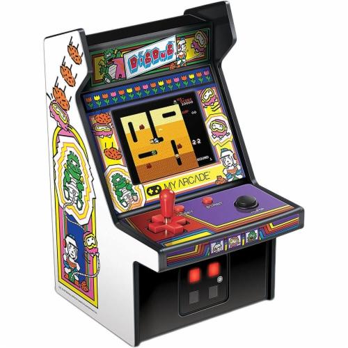 My Arcade DIGDUGMICROP Dig Dug Micro Player Perspective: top