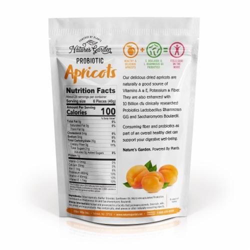 Nature's Garden Probiotic Apricots Perspective: top