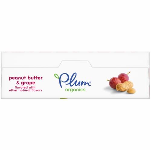 Plum Organics Peanut Butter & Grape Snack Size Sandwich Bar Perspective: top
