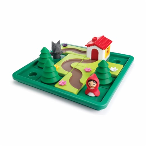 SmartGames Little Red Riding Hood Deluxe Game Perspective: top