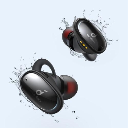 Anker Liberty 2 TWS In Ear Headphones - Black Perspective: top