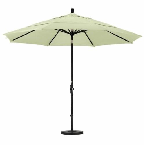 California Umbrella 11' Patio Umbrella in Natural Perspective: top