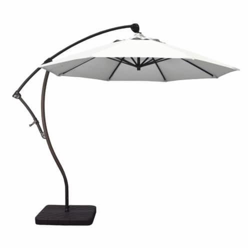 California Umbrella 9' Cantilever Umbrella in Natural Perspective: top
