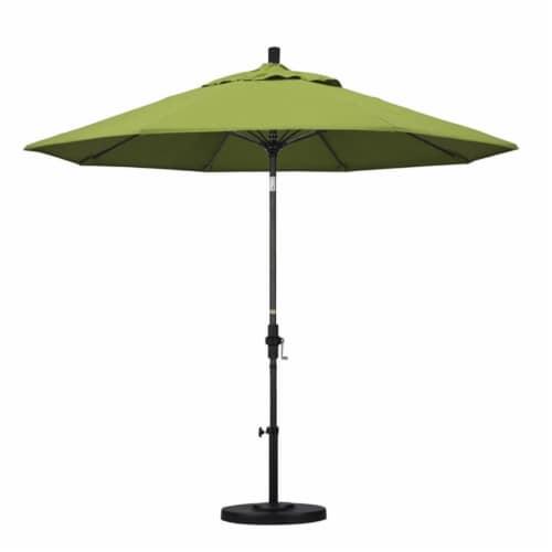 California Umbrella 9' Patio Umbrella in Macaw Perspective: top