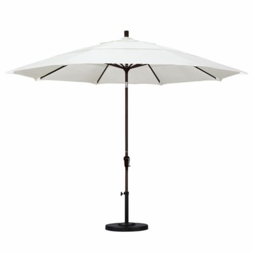 California Umbrella 11' Patio Umbrella in Canvas Perspective: top