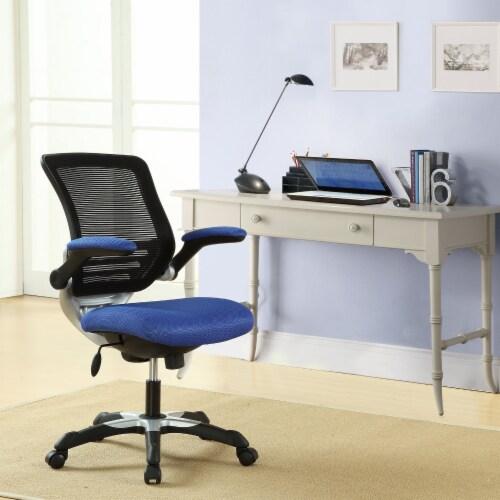 Edge Mesh Office Chair, EEI-594-BLU Perspective: top