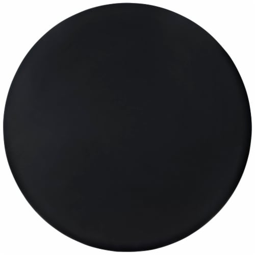 Track Round Dining Table - Black Perspective: top
