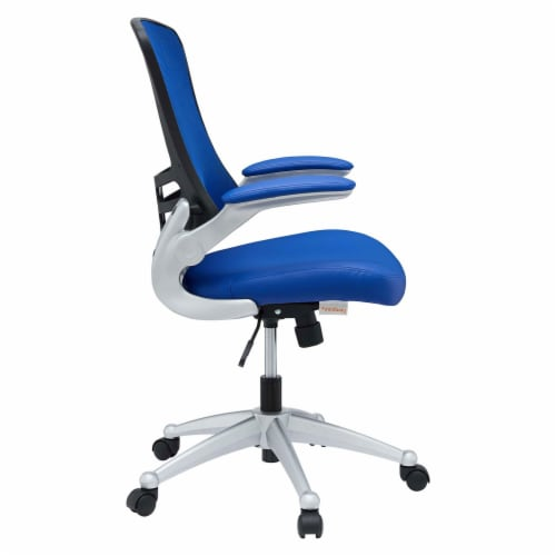 Blue Attainment Office Chair Perspective: top