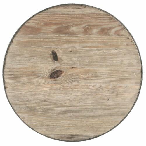 Sylvan Wood Top Bar Table - Brown Perspective: top