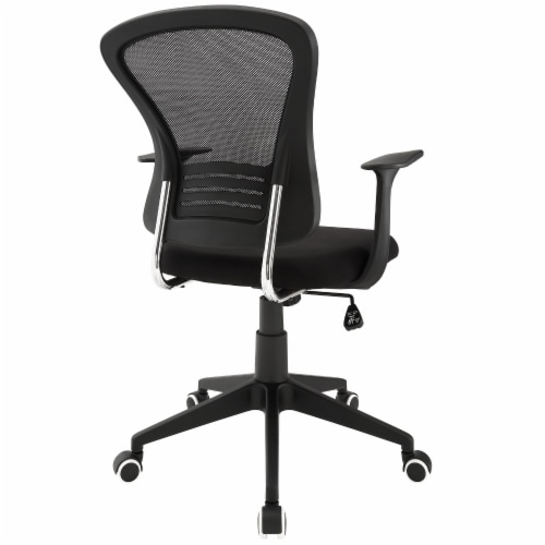 Poise Office Chair - Black Perspective: top
