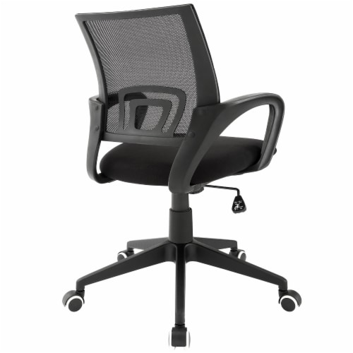 Twilight Office Chair - Black Perspective: top