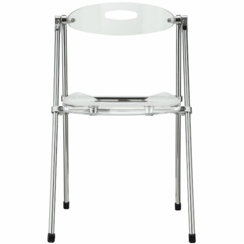 Telescope Folding Chair - Clear Perspective: top