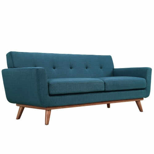 Engage Armchair and Loveseat Set of 2 - Azure Perspective: top