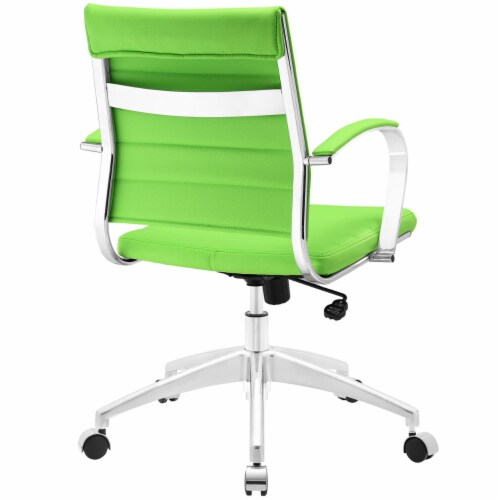 Jive Mid Back Office Chair, EEI-273-BGR Perspective: top