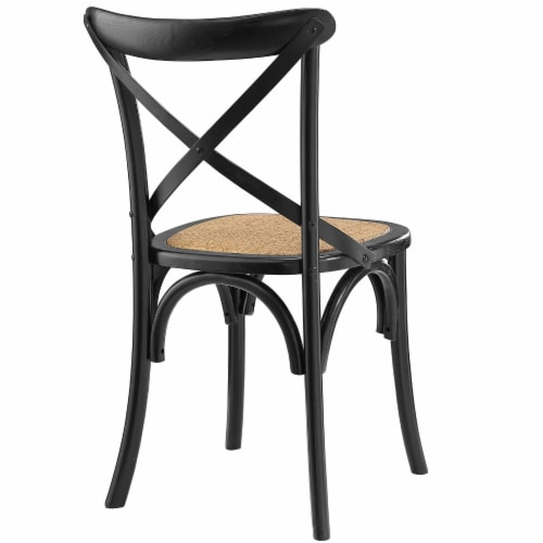 Gear Dining Side Chair - Black Perspective: top