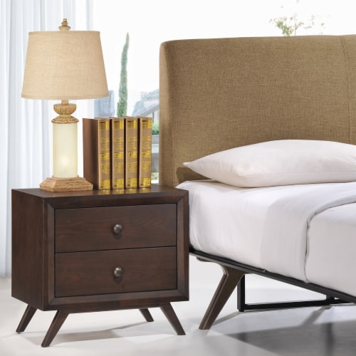 Tracy Nightstand - Cappuccino Perspective: top