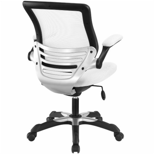 Edge Mesh Office Chair, EEI-594-WHI Perspective: top