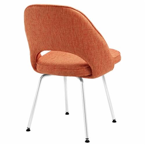 Cordelia Dining Chairs Set of 4 - Orange Perspective: top