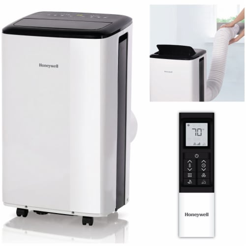 Honeywell 8000 BTU Portable Air Conditioner with Dehumidifier & Fan Perspective: top