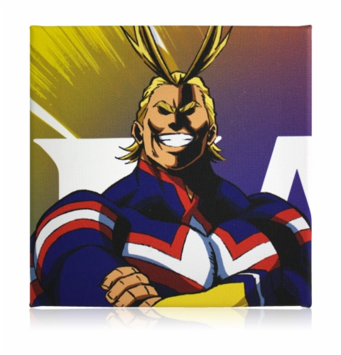 My Hero Academia LookSee Mystery Gift Box | Includes 5 Themed Collectibles | All Might Box Perspective: top