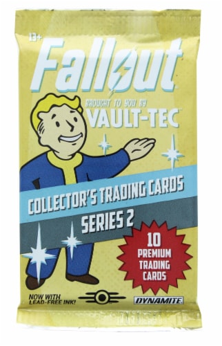 Fallout Trading Cards Series 2 | Sealed Hobby Box | Contains 24 Unopened Packs Perspective: top