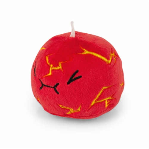 Slime Rancher Plush Toy Bean Bag Plushie | Boom Slime, by Imaginary People Perspective: top