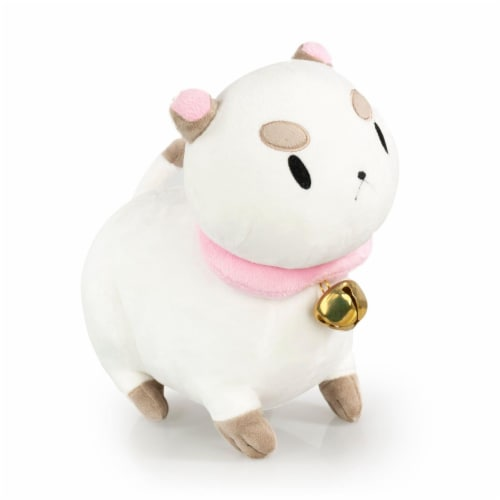 Talking PuppyCat Plush | Mighty Fine Official Bee & PuppyCat Doll | 10 Inches Perspective: top