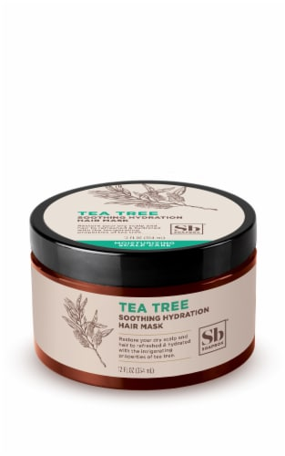 Soapbox Tea Trea Soothing Hydration Hair Mask Perspective: top