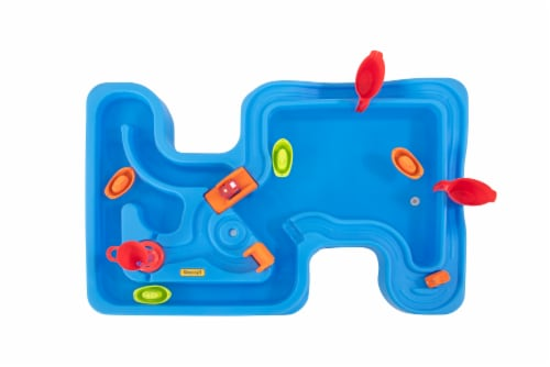 Simplay3 Big Rivers & Roads Water Play Table Perspective: top