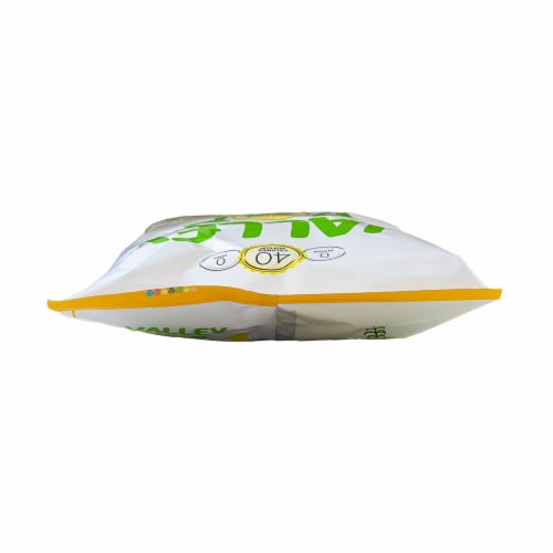 Valley Popcorn White Cheddar Cheese Popcorn Perspective: top