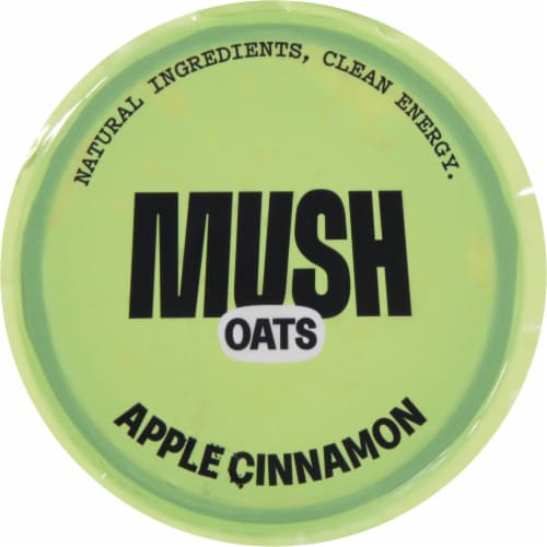 MUSH Apple Cinnamon Overnight Oats Perspective: top