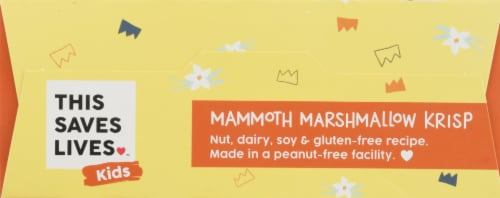 This Saves Lives™ Kids Mammoth Marshmallow Krisp Bars Perspective: top