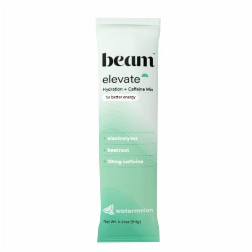 Beam Organics, Elevate Hydration Performance, Watermelon, 15 Single Serve Powder Packets Perspective: top
