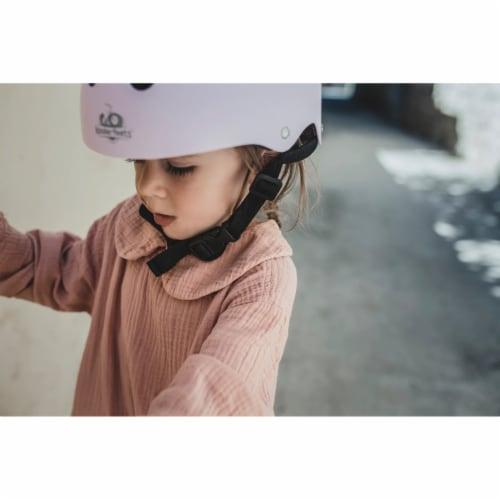Kinderfeets Adjustable Toddler & Kids Sport Bike Helmet, CPSC Certified, Rose Perspective: top