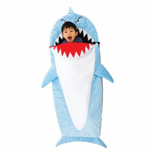 Bixbee Shark Sleeping Bag Perspective: top
