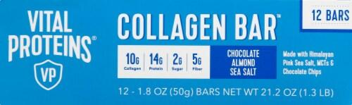 Vital Proteins Chocolate Almond Sea Salt Collagen Bars Perspective: top