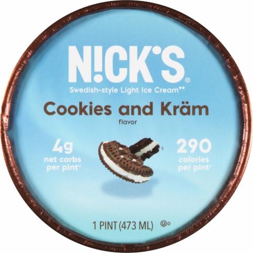 Nick's Cookies and Kram Light Ice Cream Perspective: top