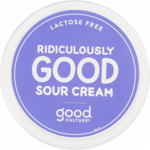 Good Culture Lactose Free Sour Cream Perspective: top