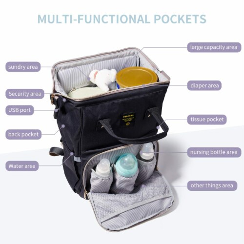 Classic Diaper Backpack Perspective: top