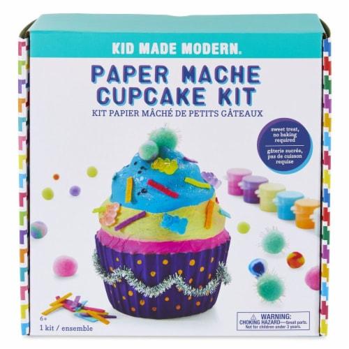Paper Mache Cupcake Perspective: top