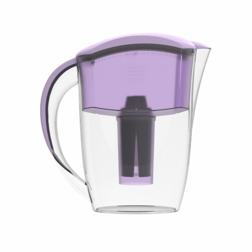 Drinkpod  Alkaline Water Pitcher 2.5L Capacity Includes 3 Filters Perspective: top